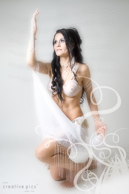 Oriental, Belly Dance, White haze