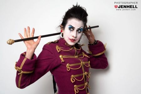 Hardcore Superstar Video, Amanda Martinez, Into Debauchery, Evil Clown