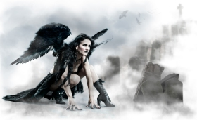Heaven & Hell, Black Angel, Black Wings, Tallee Savage, Mattias Savage Wilmenius