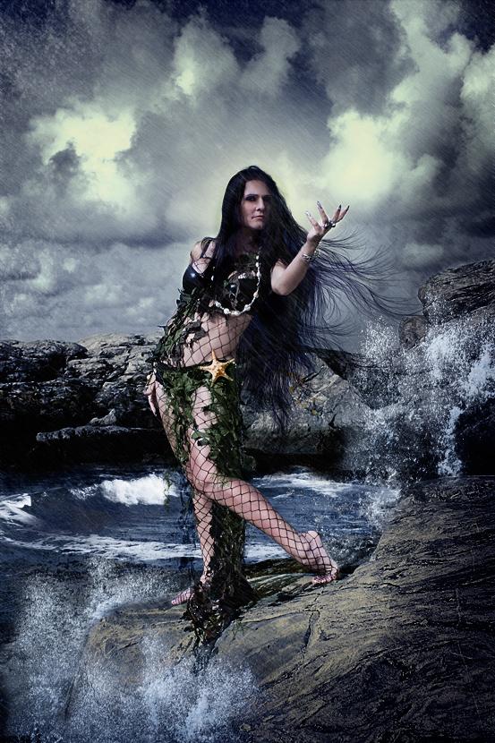 Ran, Sea Goddess, VIking, Heathen, Tallee Savage, Mattias Savage