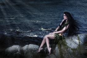 Ran, Sea Goddess, Viking, Heathen, Tallee Savage, Mattias Savage WIlmenius