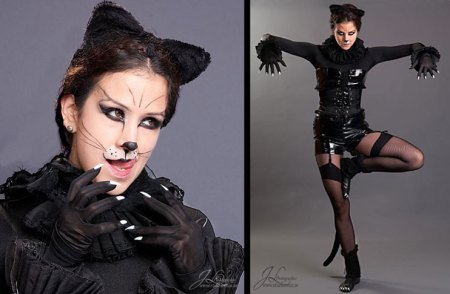 Feline Fatale, cat make up, Savage Beauty Make up