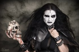 Black Metal, Corpse Paint, Tallee Savage, Mattias Savage WIlmenius, Skull