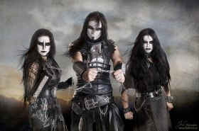Black Metal, Corpse Paint, Tallee Savage, Mattias Savage WIlmenius