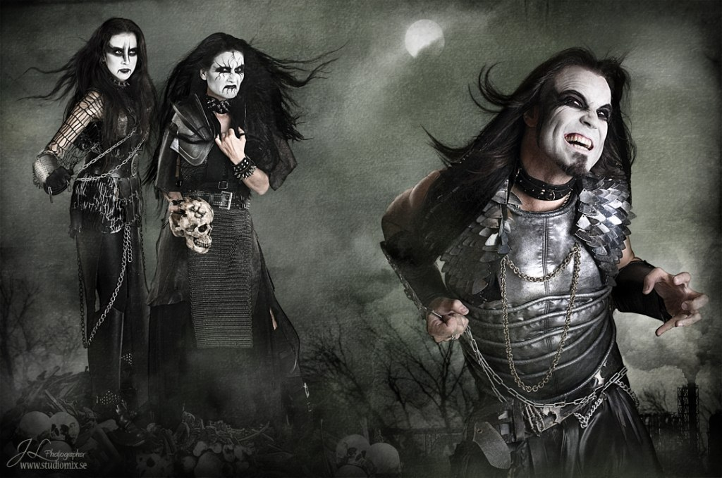 Black Metal Corpse Paint Photos
