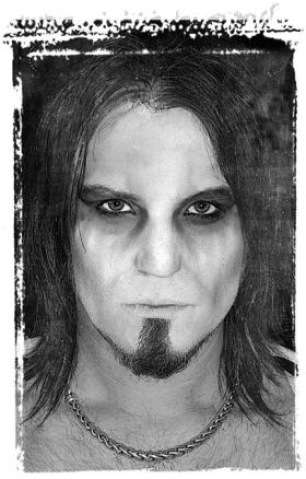 Corpse Paint, Mattias Savage Wilmenius, Savage Beauty Make up, Black Metal