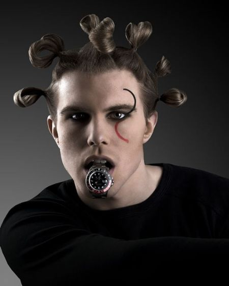 Alexander Gutell, Tobias Fischer, Fashion, Savage Beauty Make up, Rolex