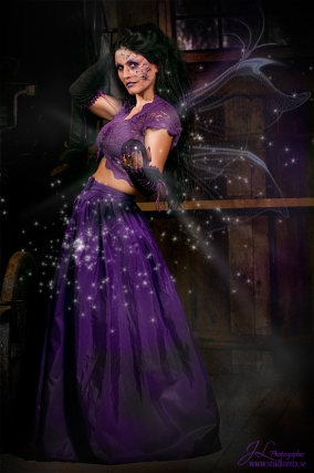 Purple Fairy, Tallee Savage, Jörgen Lundh