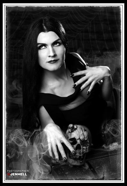 Vampira, Tallee Savage, JenHell, Vampire, Savage Beauty Make Up