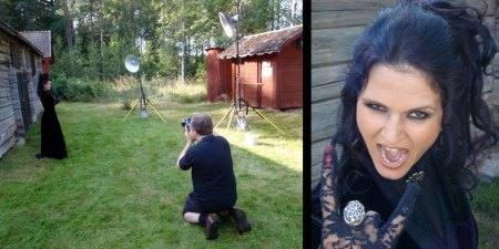 Black Madame, Svarta Madame, Tallee Savage, Savage Beauty Make up, Mattias Savage Wilmenius, Independent Kostym