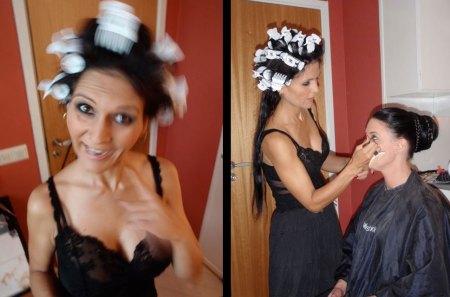 Black Madame, Svarta Madame, Tallee Savage, Savage Beauty Make up, Independent Kostym