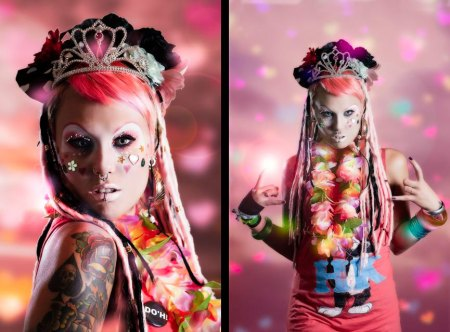 Ganguro Make Up