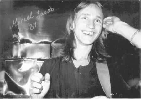 Marcel Jaocbs at rehearsal 1984