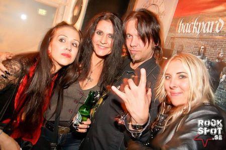 Amanda, me, Leif, Lotta Fisher