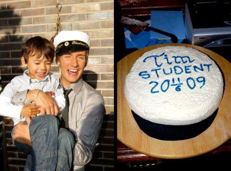 Tim, Zack, hat cake