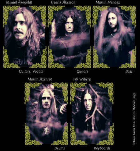 Opeth band members