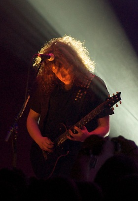 Fredrik Åkesson of Opeth at the Cirkus Arena in Stockholm