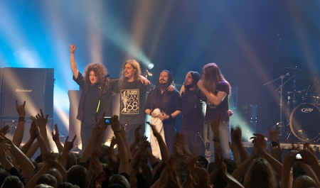 Opeth thanks audience in Cirkus Arena in Stockholm