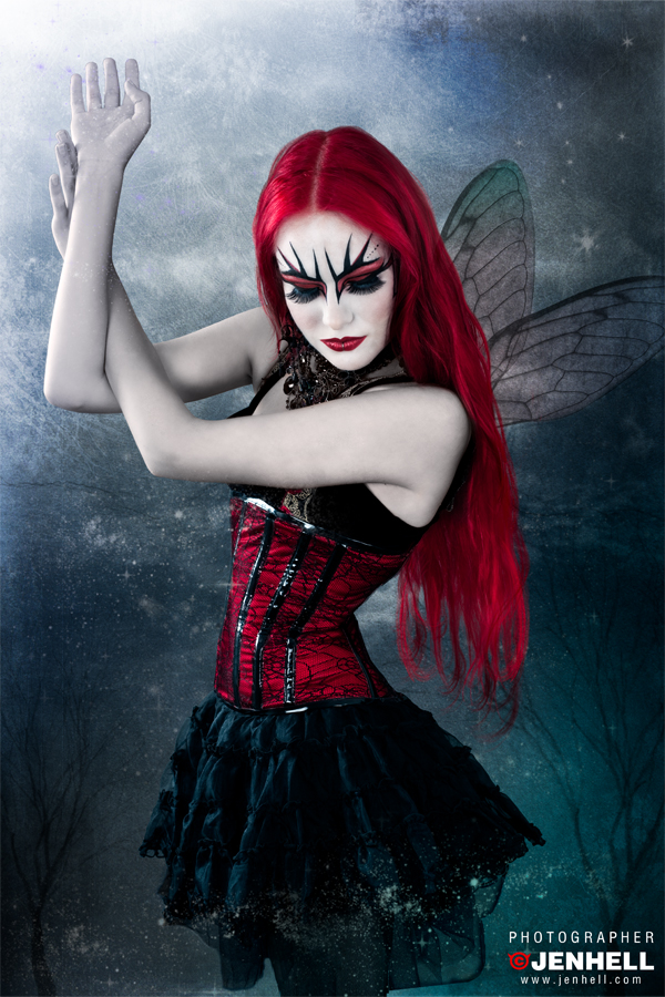 vampire fairy makeup