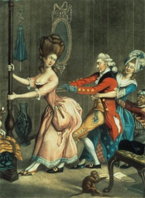1700s french fashion. The fashion for women of this