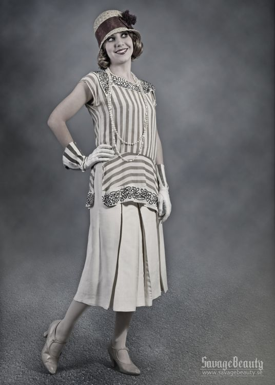 1920s Women Casual Fashion While diverse classes were now embracing ...