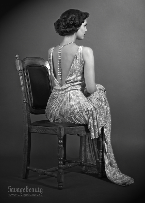 1930s Backless Dresses